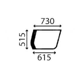Case Jobb oldaliüveg W2447036