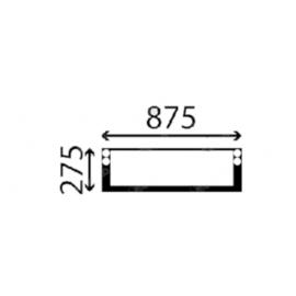 Case Szélvédő első alsó S2447009