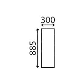Case Hátsó felső ajtóüveg bal T2447033